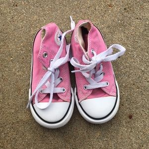 Baby Pink Converse All Star Sneaker